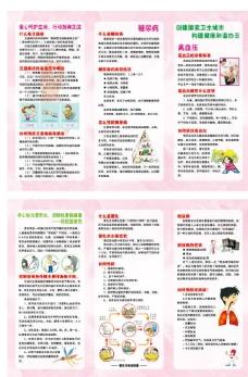 艾滋病宣传折页图片