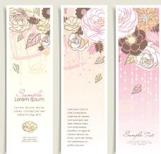 浪漫古典花纹花朵 玫瑰 牡丹图片
