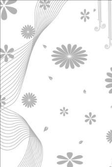 时尚玻璃花纹图片