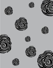 玫瑰花 底纹 底纹矢量图 玫瑰花底纹 矢量图图片