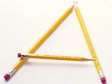 铅笔字母图片