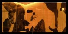 桑拿区 按摩房墙身彩图图片