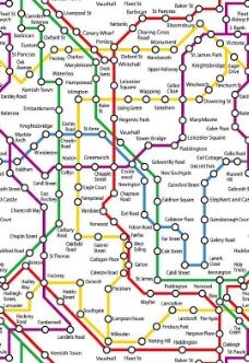 城市线路图图片