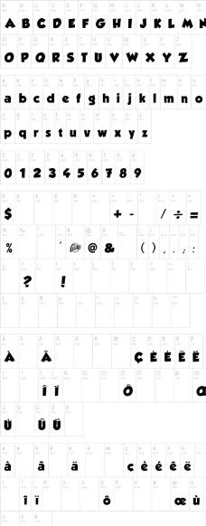 Grobold 英文字体