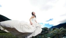山谷经典婚纱照图片