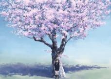 樱花祝福图片