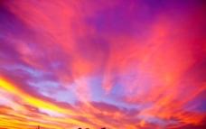 彩色的云图片