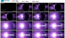 紫色星球ae模版图片