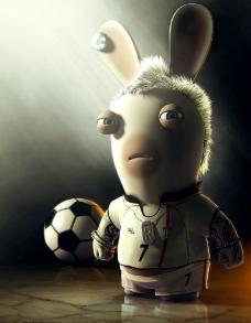 疯狂兔子图片