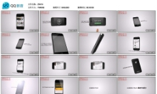 iphone手機絢麗AE模版