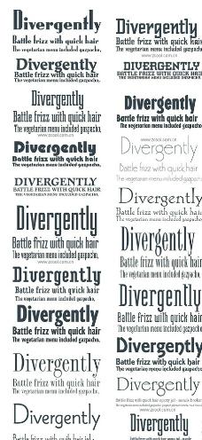 20款好看有实用的英文字体下载