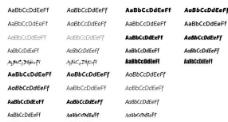 实用专业英文字体包