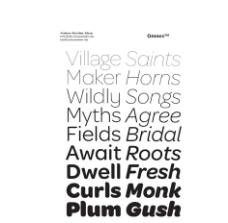 9款Omnes系列英文字体