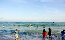 海水边图片
