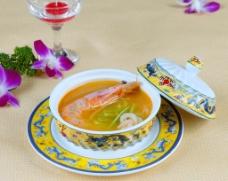 萝卜丝炖大虾图片