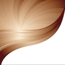 咖啡色背景矢量图