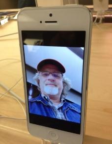 iphone5实物照片图片