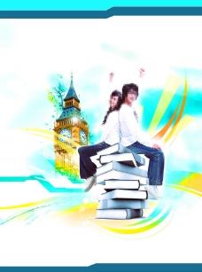 英国留学 psd图片