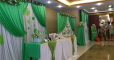 婚礼迎宾区图片