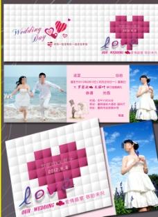 欧式个性创意结婚请柬图片