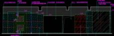 顶级桑拿SPA 首层接待厅立面图图片