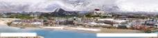 拉萨全景图片