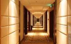 豪华酒店走道图片