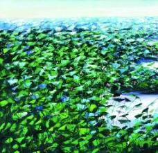 荷塘風景圖片