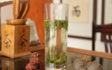 绿茶 茶杯图片