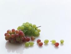 纯背景葡萄图片
