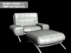 3d沙发垫脚凳