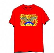 吉祥中国文化T恤