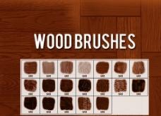 高清晰木質地板紋理PS筆刷