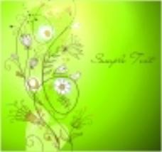 矢量背景春天树枝线条插画背景