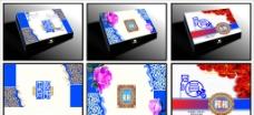 月饼包装设计3款图片