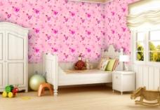 墙纸效果图图片
