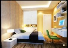 时尚现代卧室图片