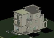 别墅模型图片