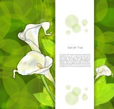 时尚梦幻鲜花花纹图片